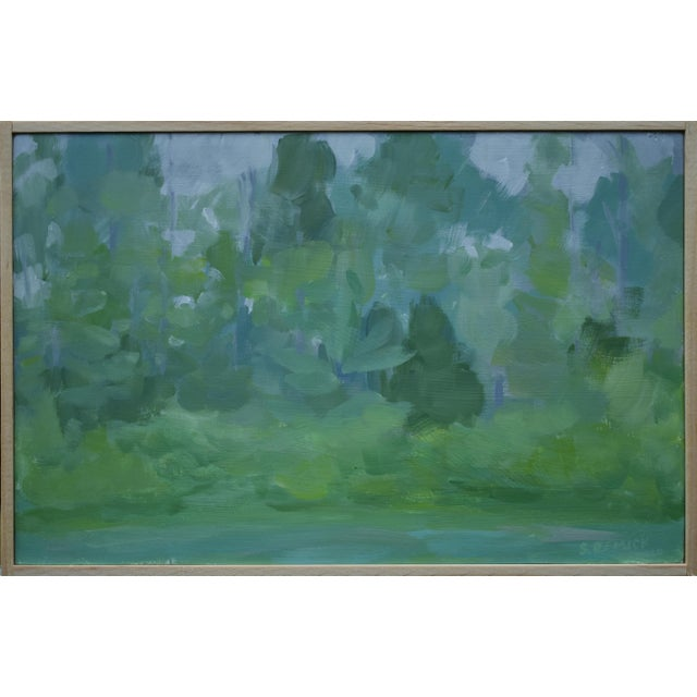 """Stephen Remick, """"Misty Morning"""", Contemporary Plein Air Painting For Sale"""