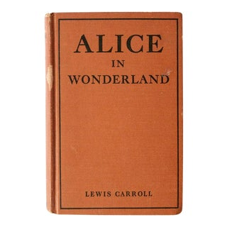 1910 Antique Alice in Wonderland Book For Sale