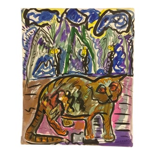 Vitae Fradogo Cat #11 Art Miami 1993 For Sale