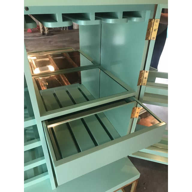 Mid Century Modern Lacquered Storage Cabinet For Sale In Baltimore - Image 6 of 13