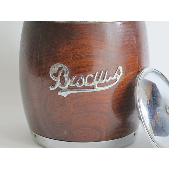 English Biscuit Barrel - Image 4 of 5