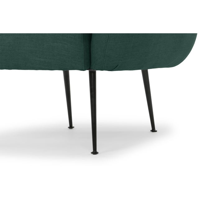 2010s Dark Green Sepli Accent Chair For Sale - Image 5 of 6