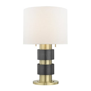 Cyrus 2 Light Table Lamp For Sale