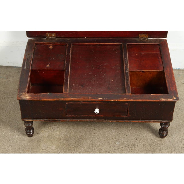 Late 19th Century 19th Century Gentlemen's Shaving Chest For Sale - Image 5 of 8