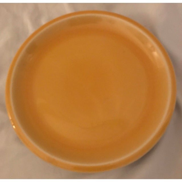 Jars of France Orange Dinner Plates & Yellow Salad Plates - 8 Pieces - Image 6 of 8