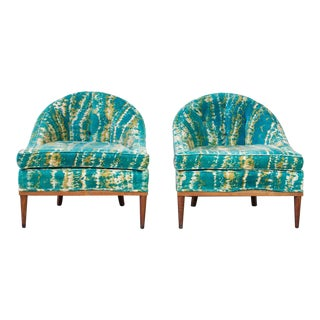 Pair of Mid-Century Lounge Chairs For Sale