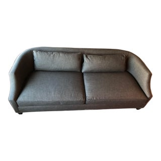 Louis J. Solomon Transitional Sofa With Loose Pillow Back