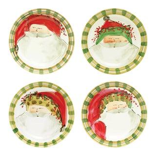 Old St. Nick Dinner Plates - Set of 4 For Sale