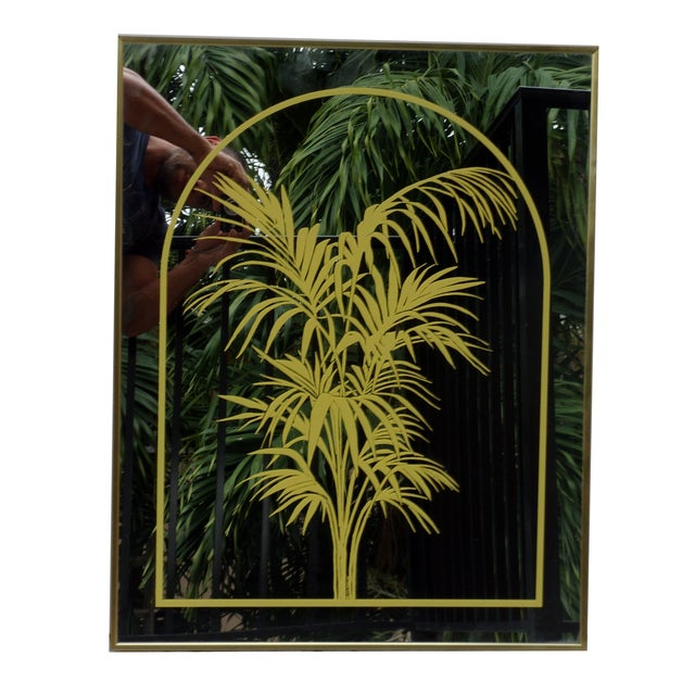 1970's John Lee Palm Mirror - Image 2 of 6
