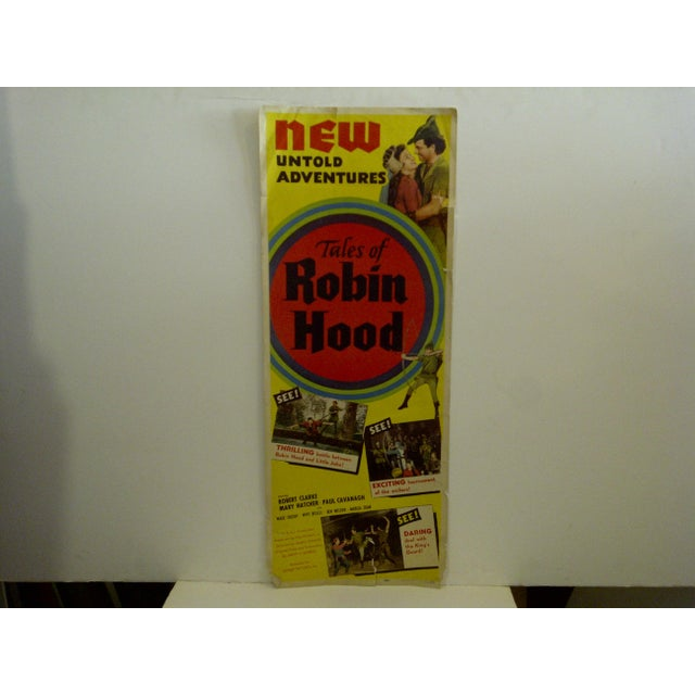 "Vintage ""Tales of Robin Hood"" 1951 Movie Poster - Image 2 of 6"