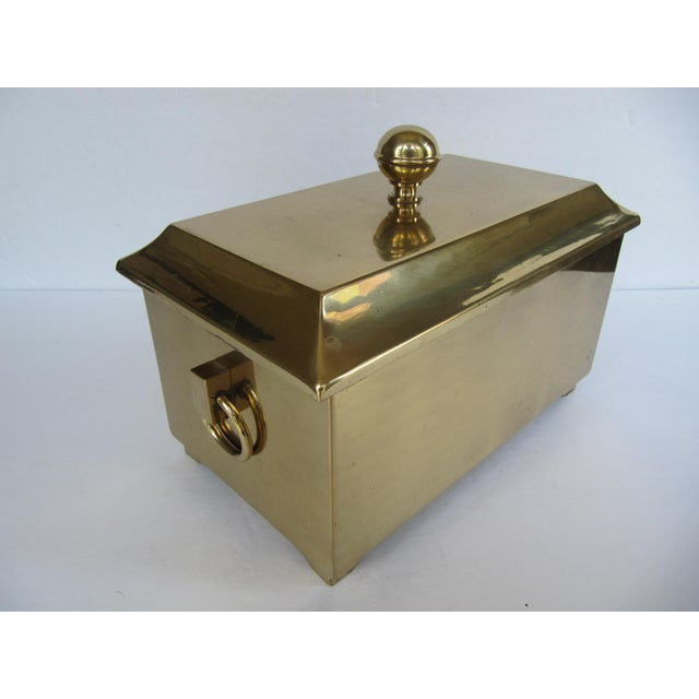 Brass Lided Box For Sale - Image 4 of 13