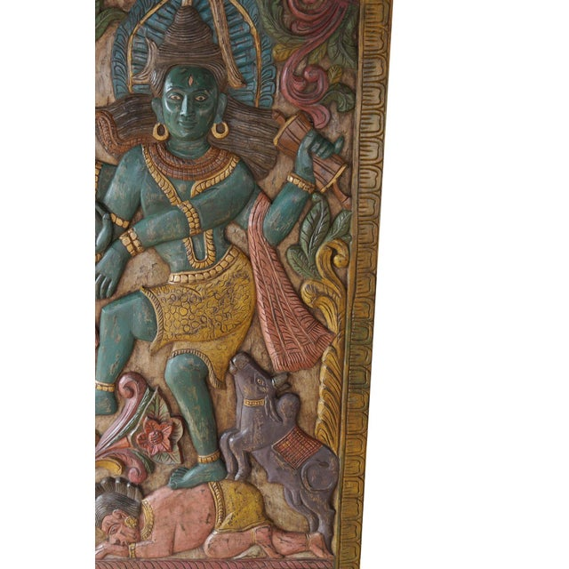 Shiva takes the form of Nataraja to suppress Apasmara - the symbol of ignorance. It is believed the dwarf demon...