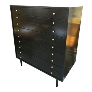 Vintage Mid Century Modern American of Martinsville Chest of Drawers For Sale