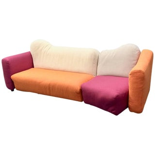 Cannaregio Sofa Design Gaetano Pesce for Cassina Two Pieces Sofa 1980s For Sale