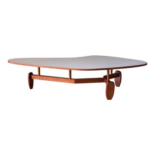 Mid-Century Modern Outrigger Coffee Table by John Keal for Brown Saltman For Sale
