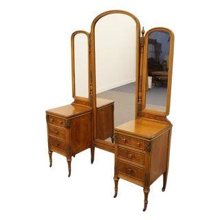 1920's Country Sligh Furniture Grand Rapids Vanity