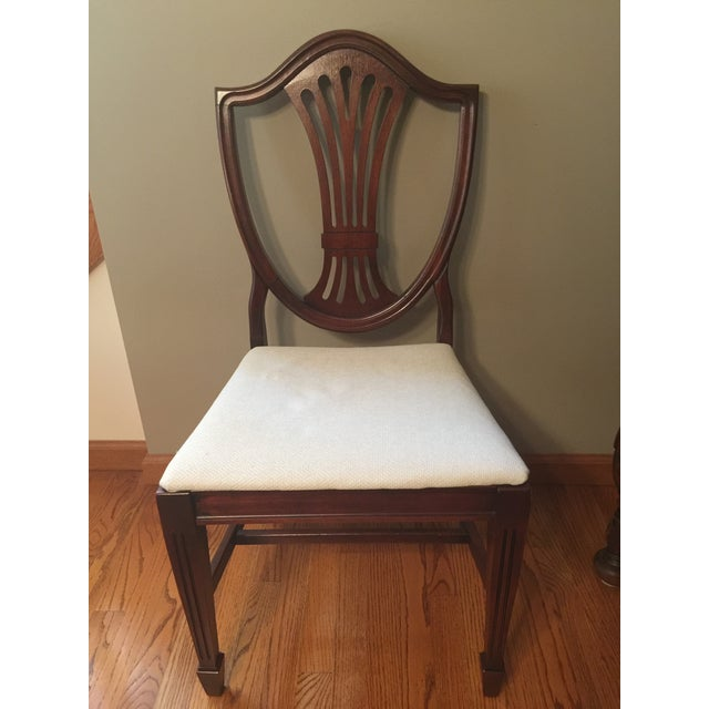 Early 20th Century Hepplewhite Chair For Sale - Image 6 of 11