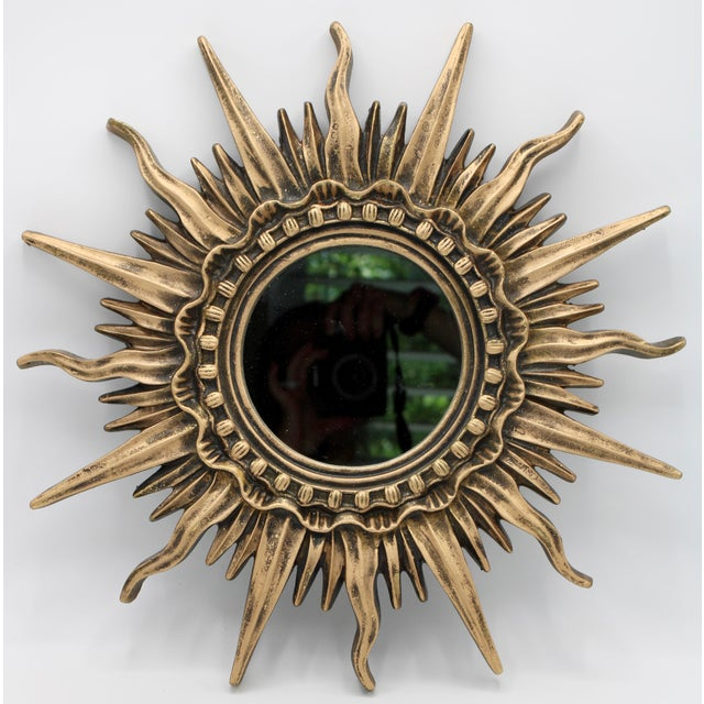 Antique French Sunburst Mirror For Sale - Image 13 of 13