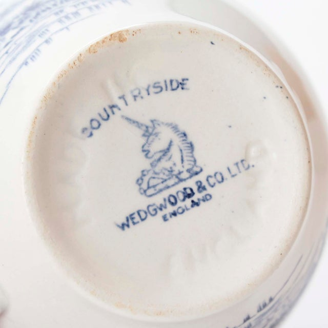 Wedgwood Wedgewood & Co., Ltd England Cups and Saucers For Sale - Image 4 of 5