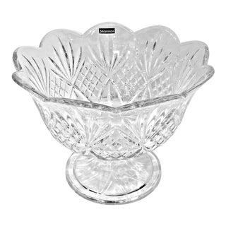 "Godinger Shannon ""Dublin"" Crystal Trifle Bowl For Sale"