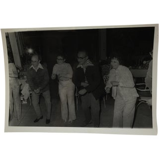 Vintage 1960s Cruise Twin Brothers Photograph For Sale