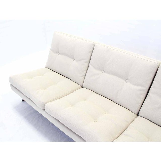 Mid-Century Modern Chrome Frame Sofa New Upholstery For Sale - Image 4 of 8