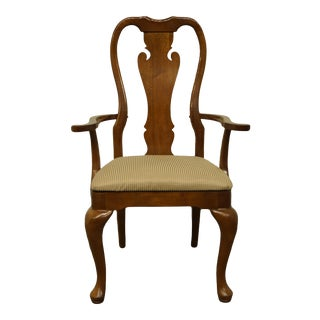 Thomasville Furniture Winston Court Collection Traditional Dining Arm Chair For Sale