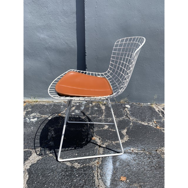 Vintage Mid Century Modern Dining Chairs by Harry Bertoia for Knoll - Set of 4 For Sale In Miami - Image 6 of 13