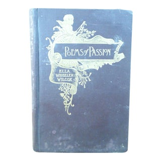 1883 Poems of Passion by Ella Wheeler Wilcox