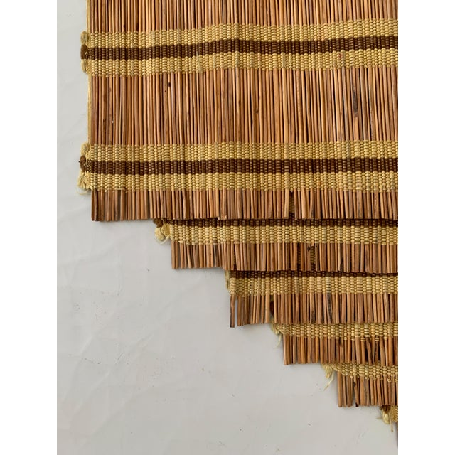 Maria Kipp Style Mid-Century Wood Woven Placemats - Set of 9 For Sale In San Diego - Image 6 of 8