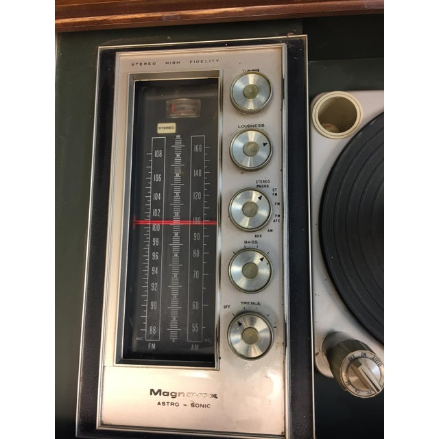 Mid Century Modern Magnavox Console Record Player For Sale - Image 9 of 11
