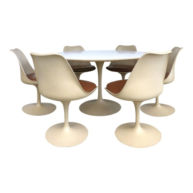 Eero Saarinen for Knoll International Tulip Dining Set - Image 1 of 11