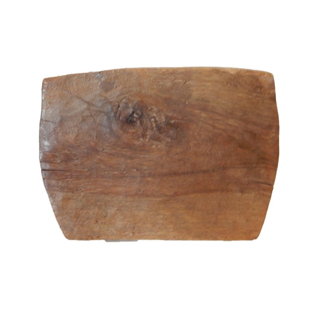 Vintage Senufo Low Milk Stool - Image 7 of 8