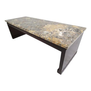 Mid-Century Marble-Top Coffee Table by Widdicomb For Sale