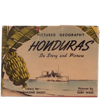 "1942 ""Honduras in Story and Pictures"" Collectible Book For Sale"