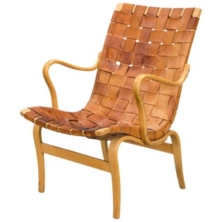 1960s Vintage Armchair Designed by Bruno Mathsson For Sale