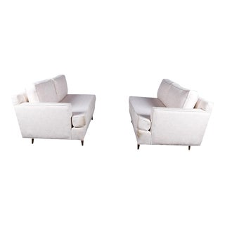 Mid-Century Loveseat Sofas - a Pair For Sale