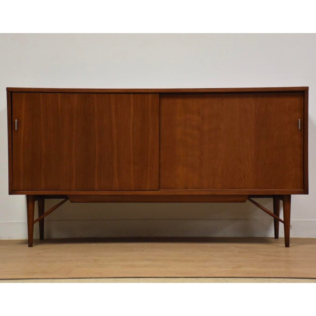 Solid Cherry Credenza by Kipp Stewart and Stewart MacDougall For Sale - Image 11 of 11