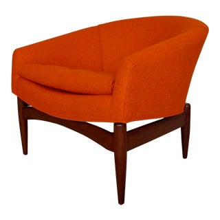 Mid-Century Modern Lawrence Peabody Lounge Chair For Sale