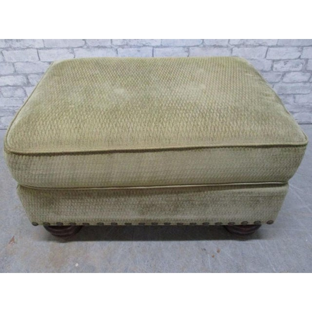 Green Cr Laine Ottoman Bench For Sale - Image 8 of 8