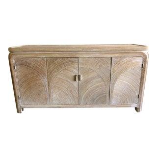 1980s Vintage Reed Cabinet For Sale