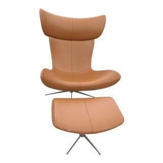 BoConcept Imola Chair & Ottoman For Sale
