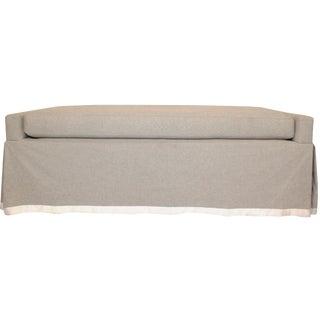 Belgian Linen Bench