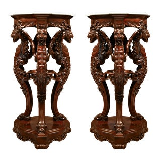 Irish Rosewood Pedestals For Sale