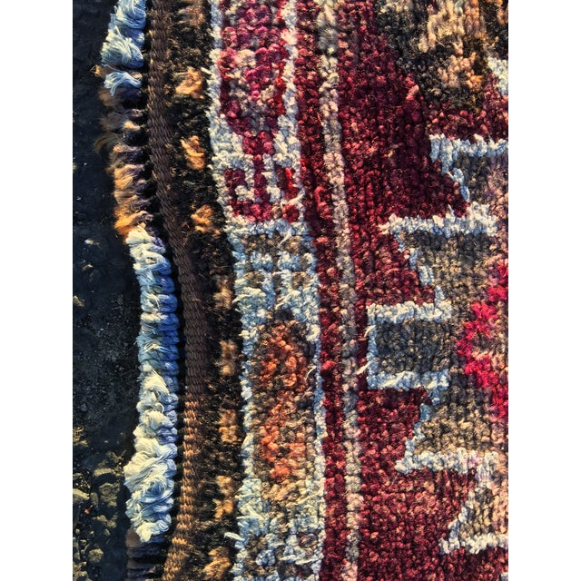 "Vintage Turkish Oushak Runner - 3' x 9'2"" - Image 9 of 11"