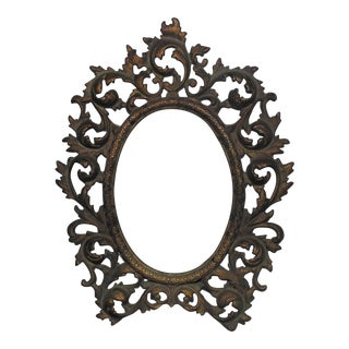 19th C. Picture Frame French Rococo Style Antique For Sale