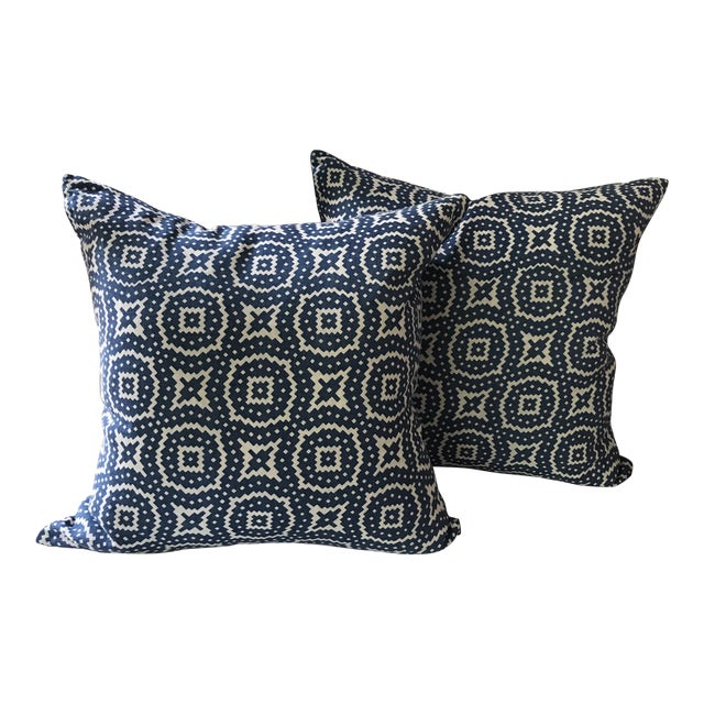 Raoul Textiles Linen Pillows - A Pair - Image 1 of 8