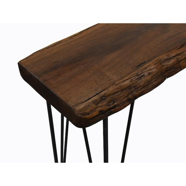 Live Edge Console Table For Sale In Los Angeles - Image 6 of 9