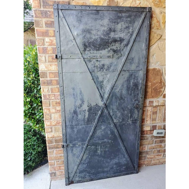 Mid 19th Century Iron Cellar Door For Sale - Image 11 of 11