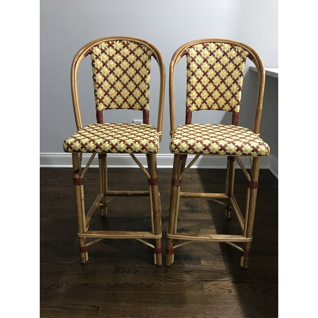 Maison Drucker French Bistro Bar Stools - A Pair For Sale In New York - Image 6 of 8